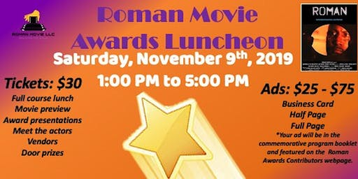 Roman Movie Awards Luncheon