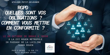 Atelier sur la mise en conformité au RGPD à Rouen billets