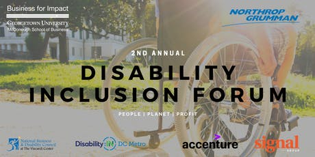 Disability Inclusion Forum 2019 tickets