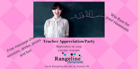 Teacher Appreciation Party-Win $500! tickets