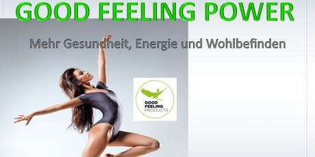 Gesundheitsvortrag über Good Feeling Power Tickets