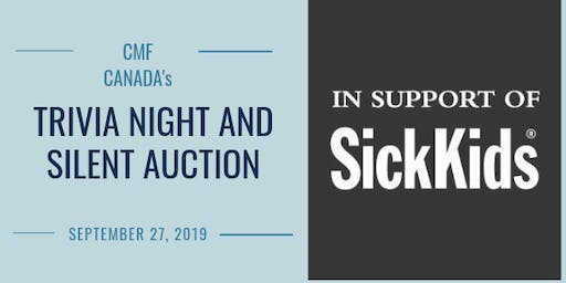 CMF Canada Trivia and Silent Auction Fundraiser