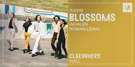 Blossoms @ Elsewhere (Hall) tickets