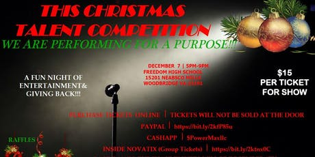 This Christmas Talent Competition, We Are Performing For A Purpose tickets