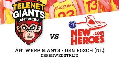 Antwerp Giants - Den Bosch