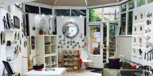 Mirror Mosaic Workshop with Helen Clues