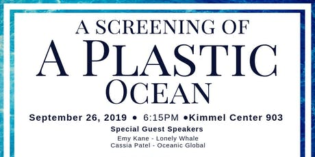 A Plastic Ocean Screening hosted by Carry Your Own Challenge!  tickets