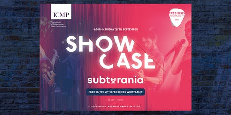 ICMP Freshers Showcase 2019 tickets