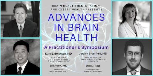 Advances in Brain Health - A Practitioner's Symposium