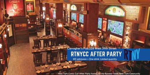 RTNY NYCC After Party 2019