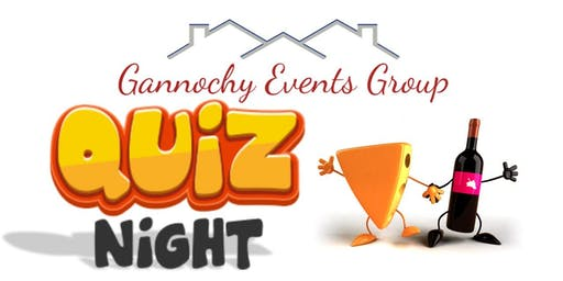 Gannochy Quiz Night - 28 Feb