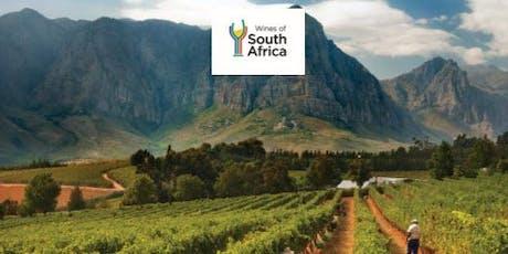 Salon de vins - L'Afrique du Sud: viniculture durable  billets