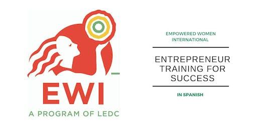 Entrepreneur Training for Success in Spanish