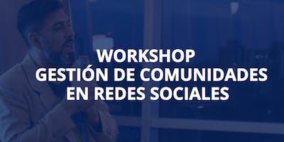 """Curso """"Gestión de Comunidades en Redes Sociales"""""""