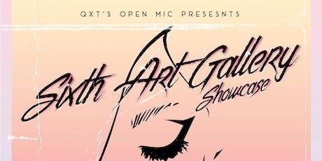 QXT's Open Mic: Art Gallery, Short film, Wyl White & Friends tickets