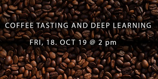 Coffee Tasting and Deep Learning talk with Dr. Sebastian Groß (MathWorks)