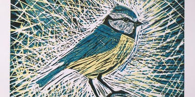 Lino Cutting with Alix Almond - Single Colour