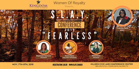 S.L.A.Y.  Women's Conference 2019 tickets