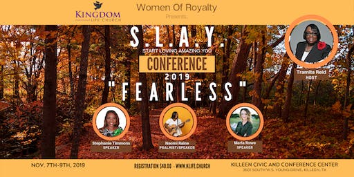 S.L.A.Y.  Women's Conference 2019
