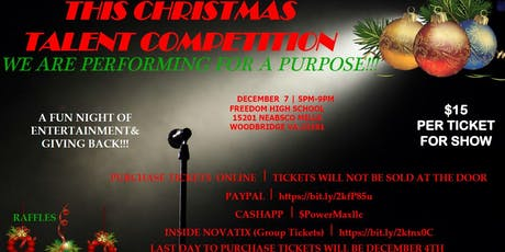 This Christmas Talent Competition tickets