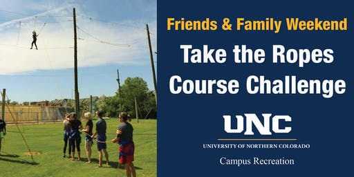 Friends & Family Weekend Ropes Course Event