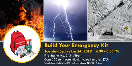 Build Your Emergency Kit - A Neighbourhood Connectors Initiative tickets