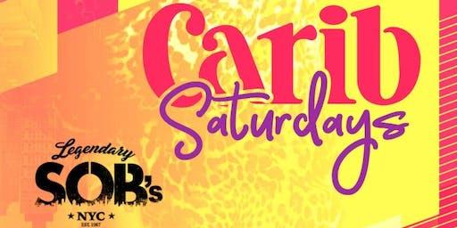 Everyone Free For Caribbean Saturdays @ SOBs