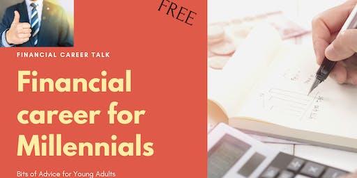 Financial career for Millennials