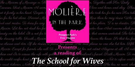 MIP: The School for Wives Staged Reading tickets