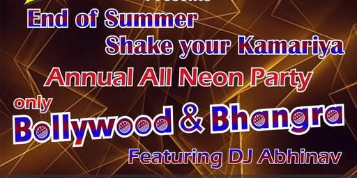 End of Summer - Annual All neon Bollywood PARTY
