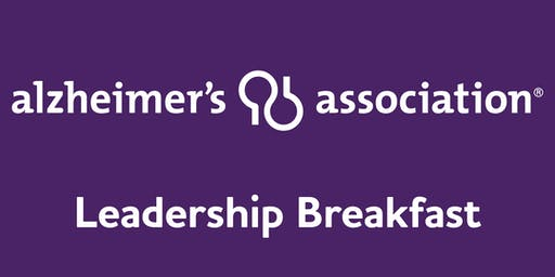 Alzheimer's Association Leadership Breakfast: Utica