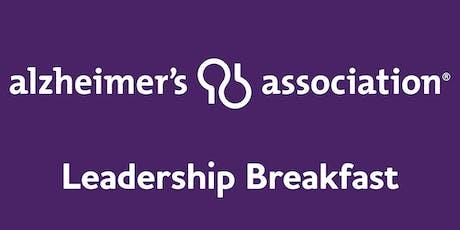 Alzheimer's Association Leadership Breakfast: Syracuse tickets