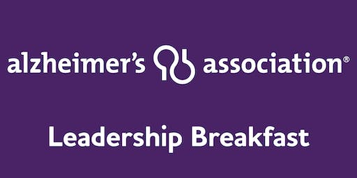 Alzheimer's Association Leadership Breakfast: Syracuse
