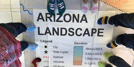 Using the Giant Arizona Floor Map - ASU Tempe campus tickets