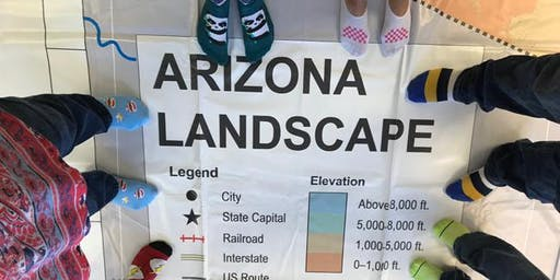Using the Giant Arizona Floor Map - ASU Tempe campus