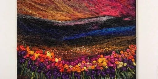 Needle Felting with Delphine Brookes