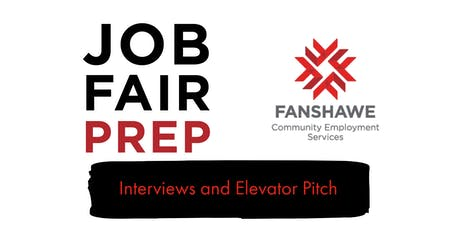 Job Fair Prep: Session 2 - Interviews and Elevator Pitch tickets