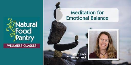 Meditation for Emotional Balance
