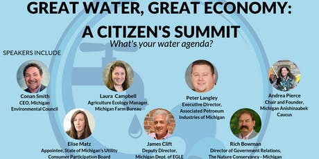 Your Water, Your Voice: Great Waters, Great Economy Summit - Lansing tickets