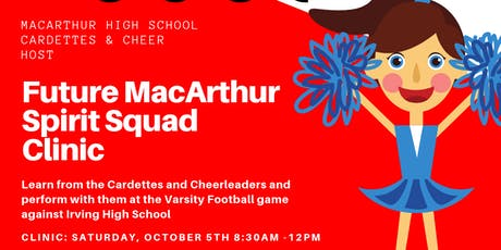 MHS Cardettes & Cheer Clinic tickets