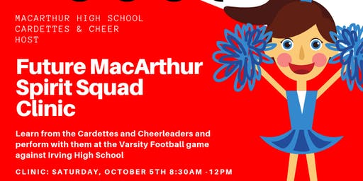 MHS Cardettes & Cheer Clinic
