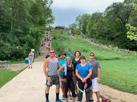 Office Hike at Swallow Cliff  #Famfit
