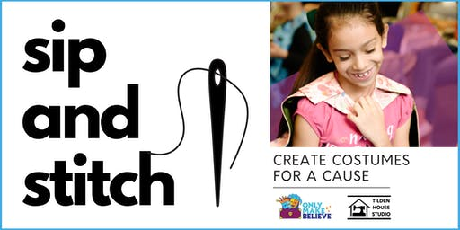 Sip And Stitch for a Cause!