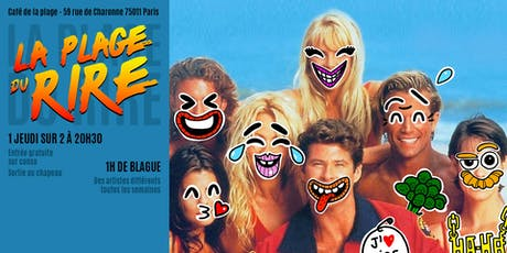 La plage du rire  #2 - Spectacle d'humour et Stand Up billets