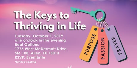 The Keys to Thriving in Life  tickets