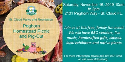 Peghorn Homestead Picnic & Pig-Out