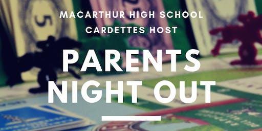 Parents Night Out @ MacArthur HS 09.20