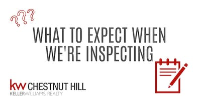 What to expect when we're inspecting