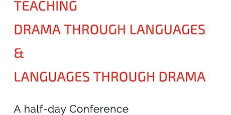 Teaching Drama Through Languages & Languages Through Drama tickets