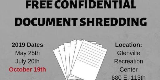 Free Confidential Document Shredding
